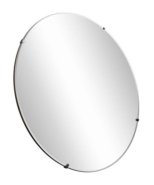 Plain Round Mirror