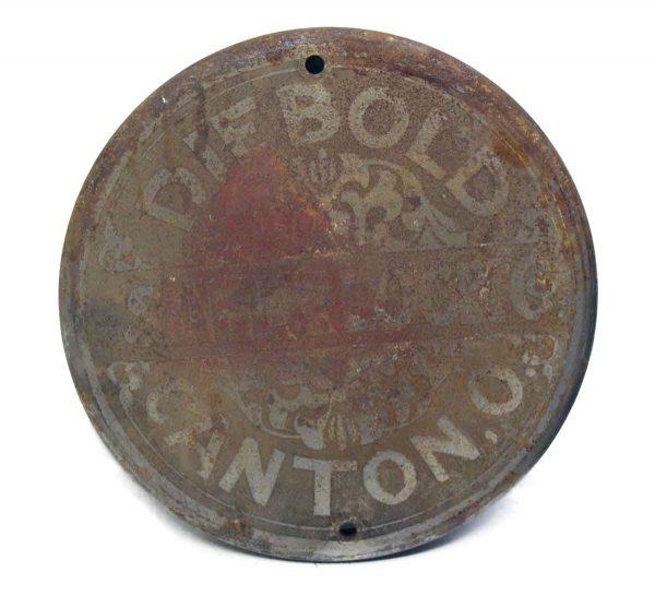 Iron Die Bold Plate