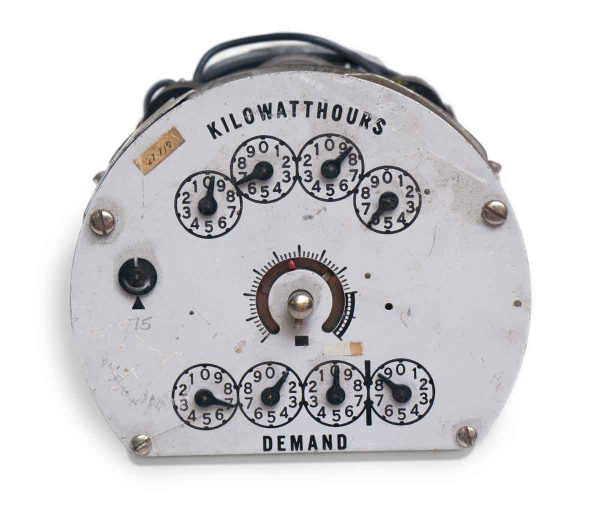 Ge Electric Kilowatt Meter