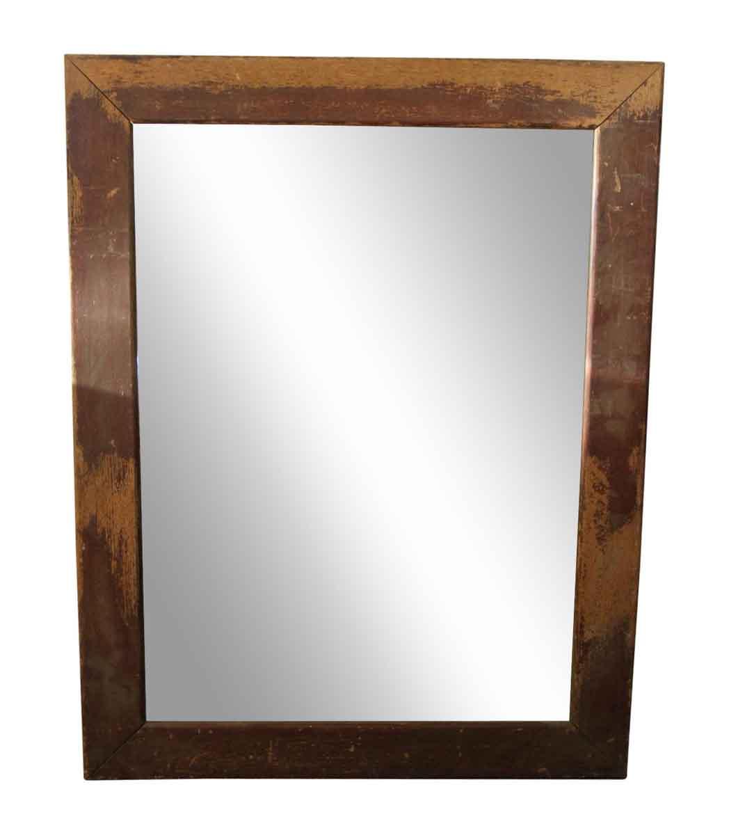 Wood Framed Beveled Mirror Olde Good Things