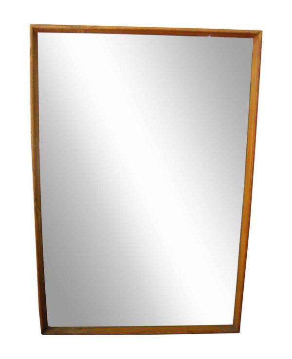 Simple Wood Framed Mirror