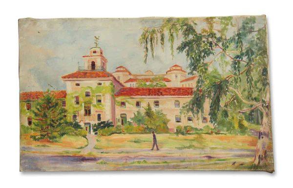 Scenic Acrylic Painting