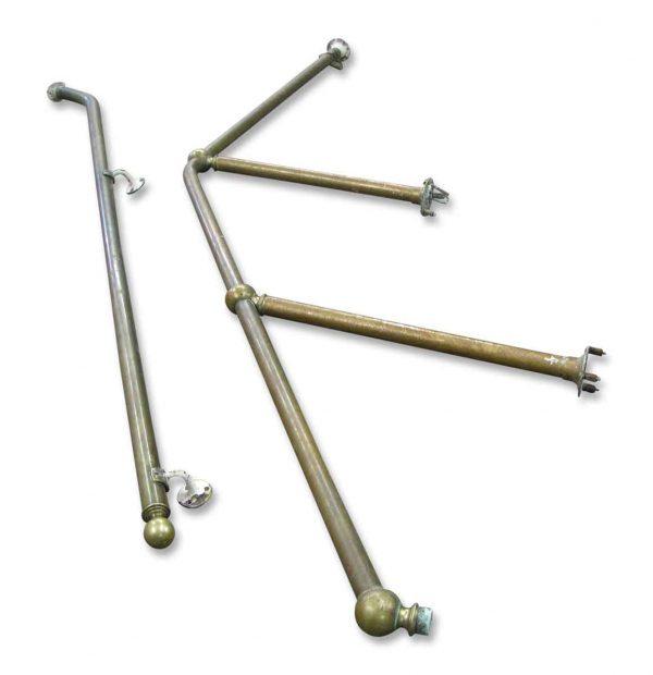 Brass Stair Hand Rail Set