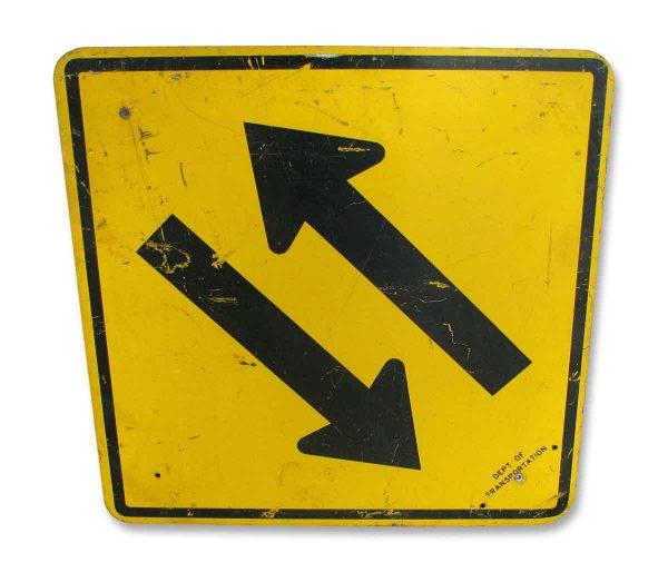 Metal Arrows Sign