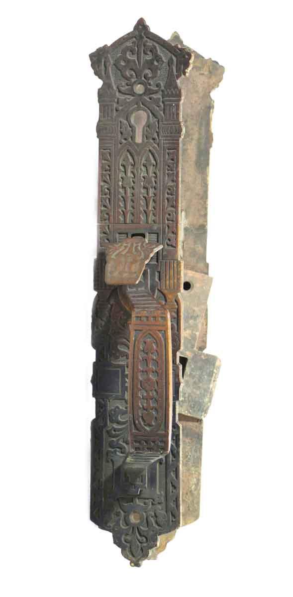 Pair of Ornate Bronze Aesthetic Door Pulls
