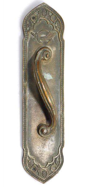 Yale Ornate Bronze Door Pull