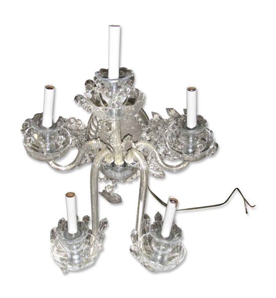 Glass Arm Wall Sconce
