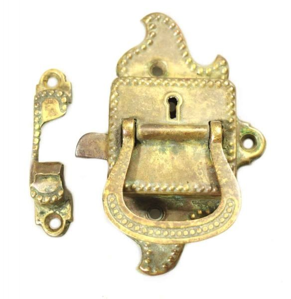 Brass Vintage Ice Box Latch