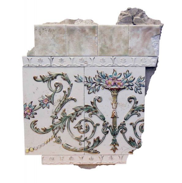 Tile Fragment from the Sterling Hotel