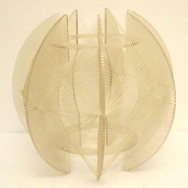 Lucite Geometric Lighting Fixture