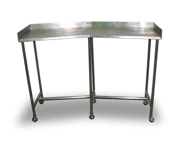 Stainless Steel Lab Table on Wheels