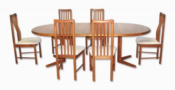 Mid Century Dining Table & Chairs