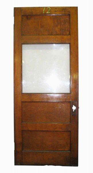 Original Glass Panel Office Door