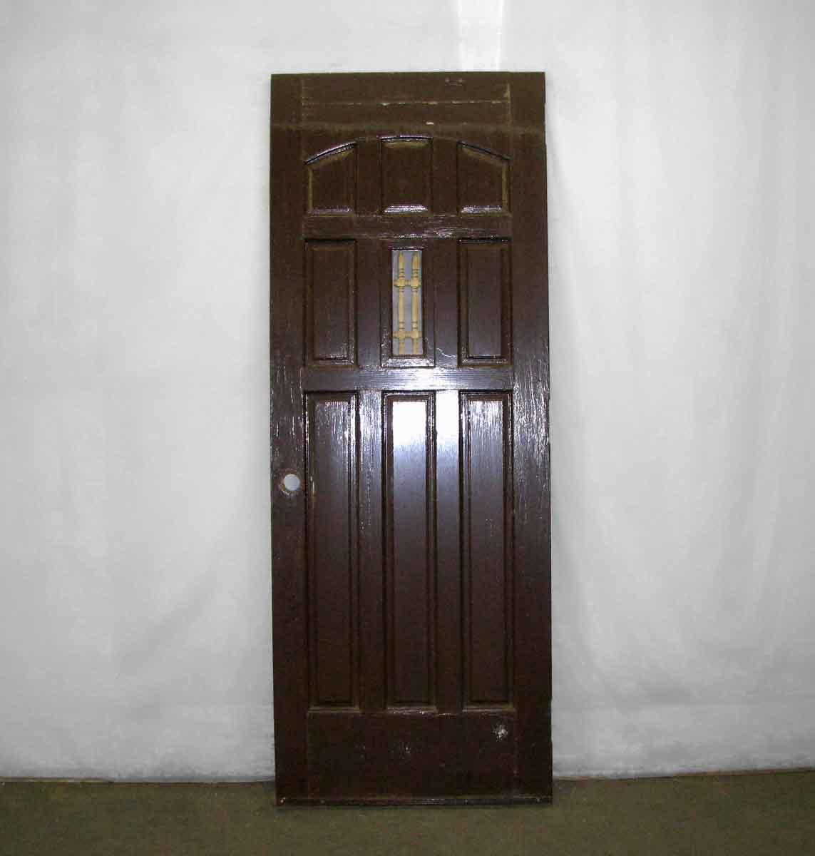 Arts Amp Crafts Entry Door With Nine Panels Amp Little Window