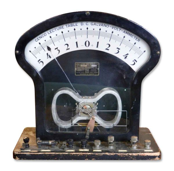 1940s Galvanometer Central Scientific Co.