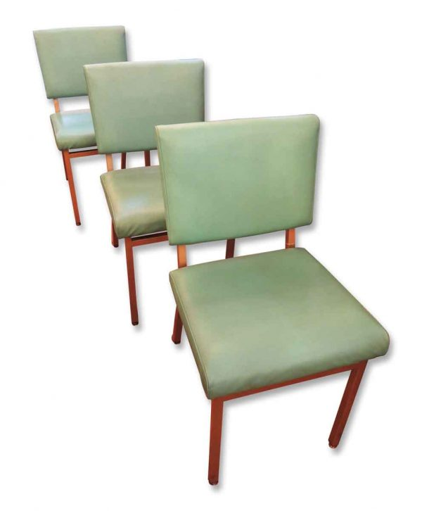 Vintage Turquoise Mid Century Howell Co. Chair