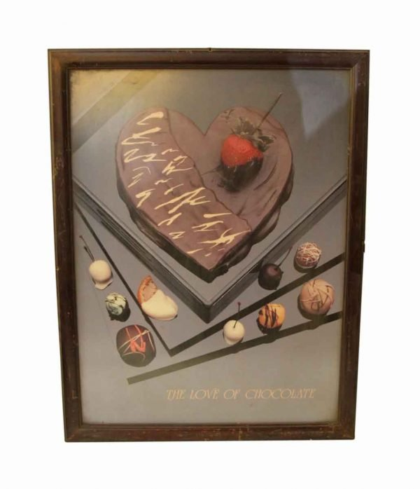the Love of Chocolate Framed Poster