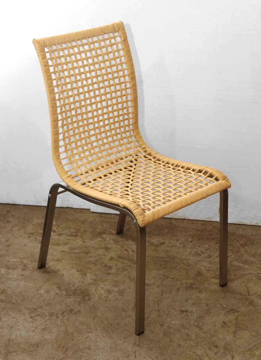 Set of Four Wicker Dining Chairs | Olde Good Things