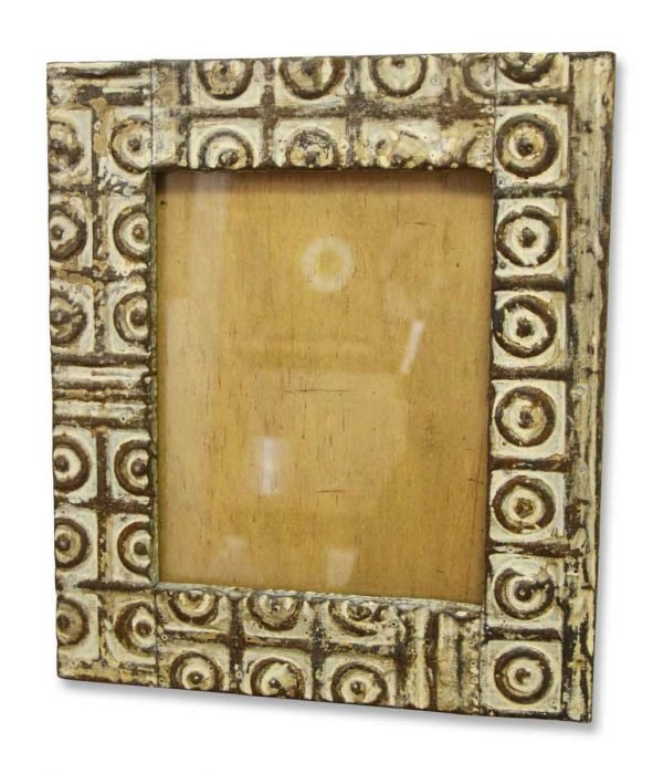 8 X 10 Mixed Pattern Tin Mirror Frame