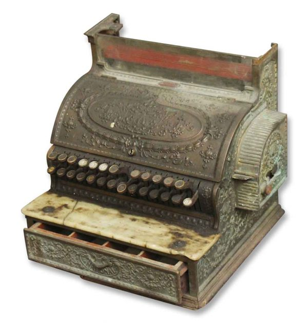 Antique Bronze Cash Register