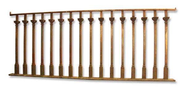 Bronze Gothic Balcony Railing