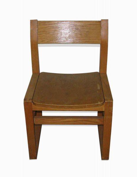 Simple Oak Plain Chair