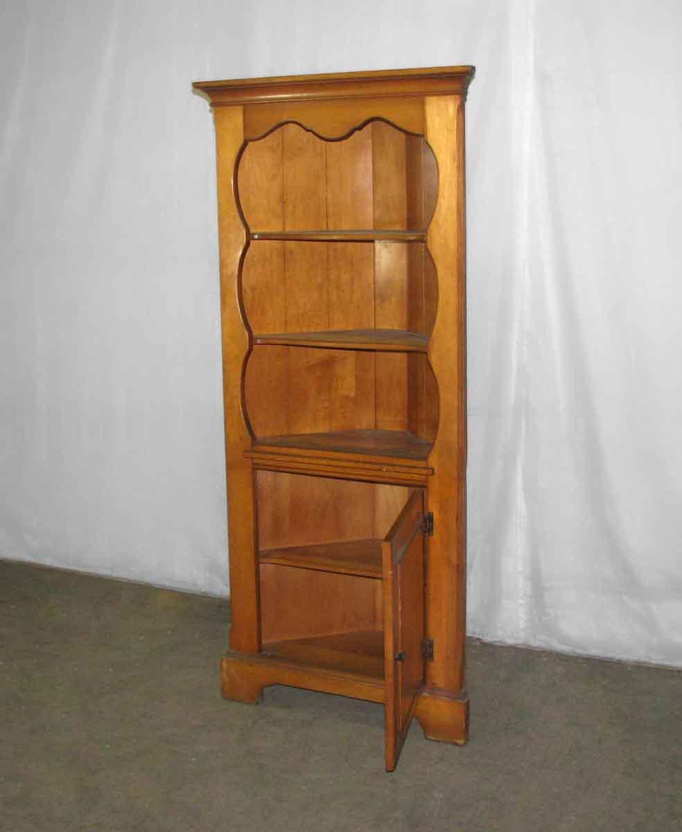 Simple Pine Corner Cabinet | Olde Good Things