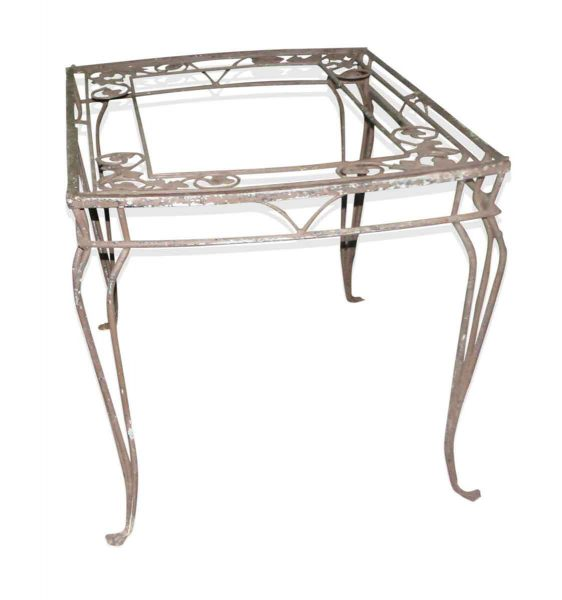 Outdoor Metal Patio Table