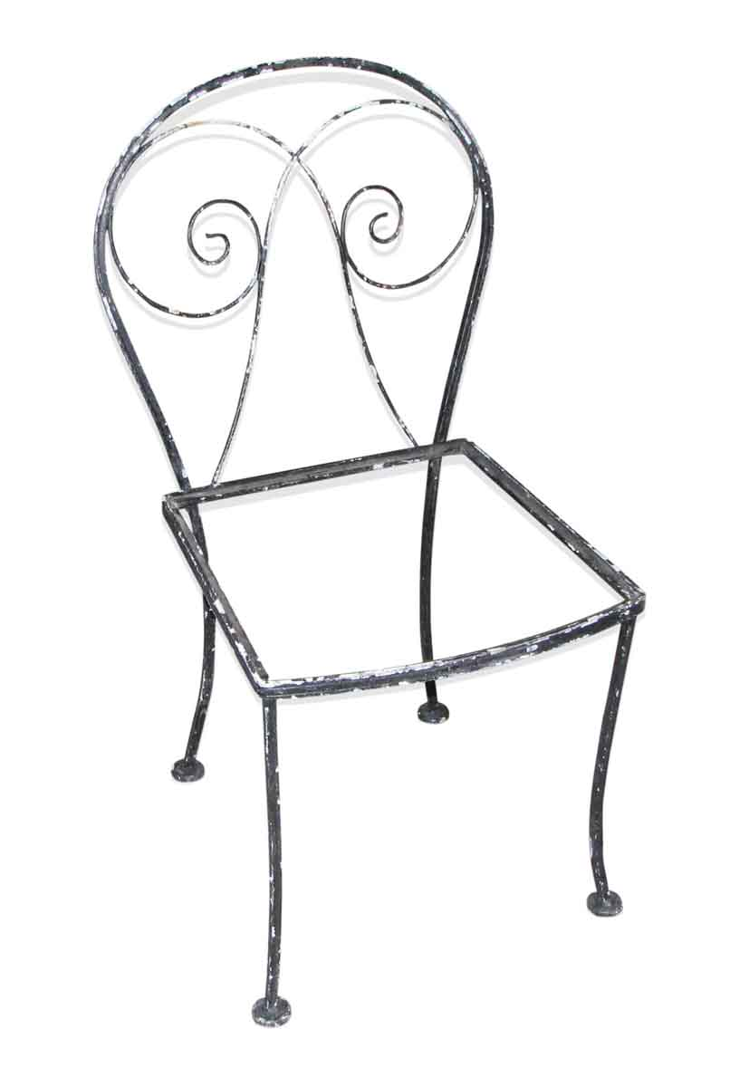 Black Patio Set Covers: Black Iron Patio Chair Set