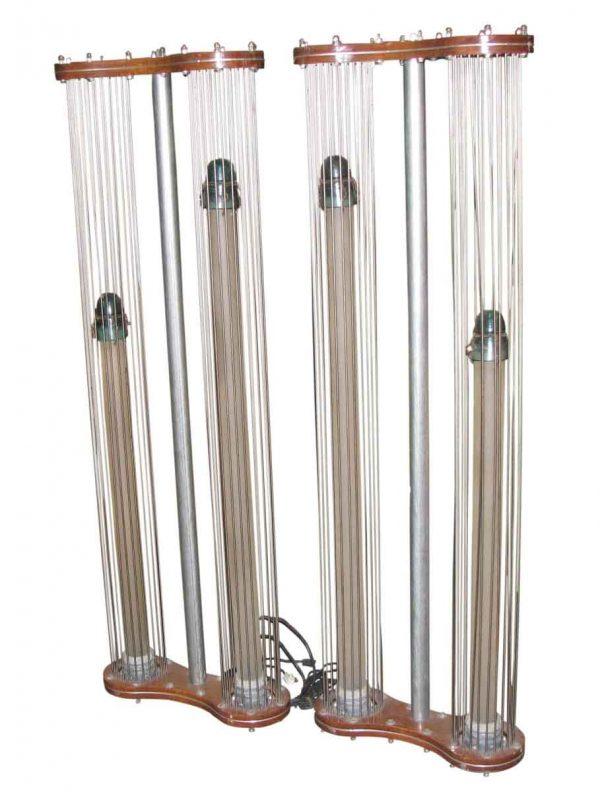 Modern Industrial Standing Lights
