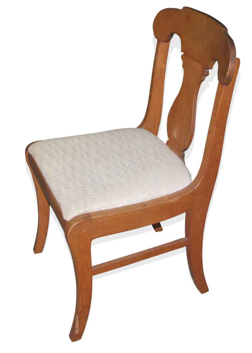 Set Of Six Vintage Upholstered Dining Chairs Olde Good