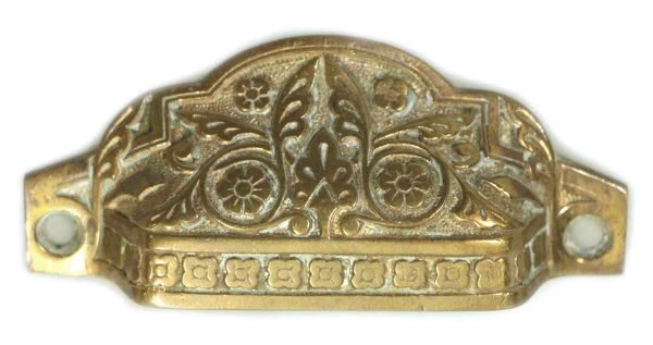 Bronze Cabinet Pull or Bin Pull