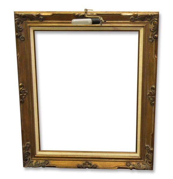 Gilded Frame with Picture Light