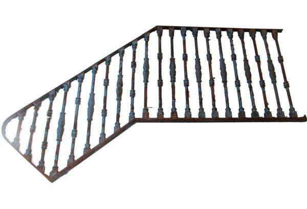 Antique Cast Iron Stair Railing