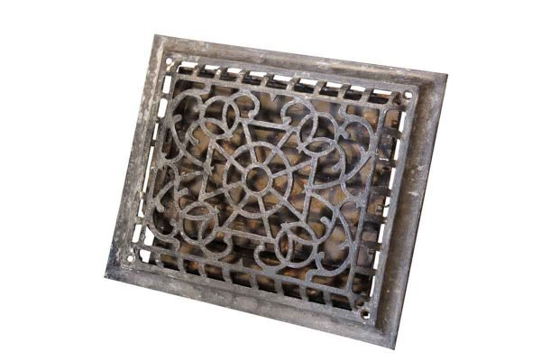 Antique Iron Heater Grate