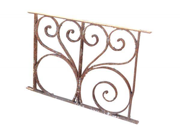 Small Decorative Iron Panel