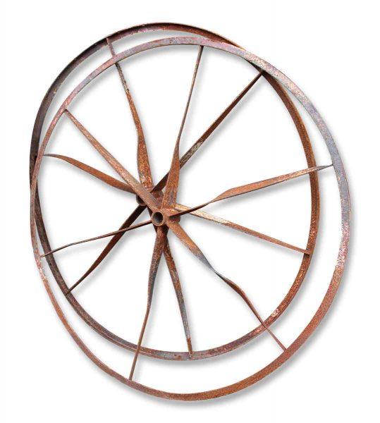 Iron Wagon Wheels
