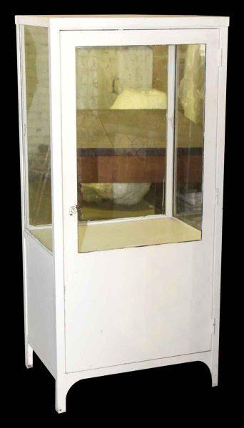 Antique Medical Cabinet Showcase