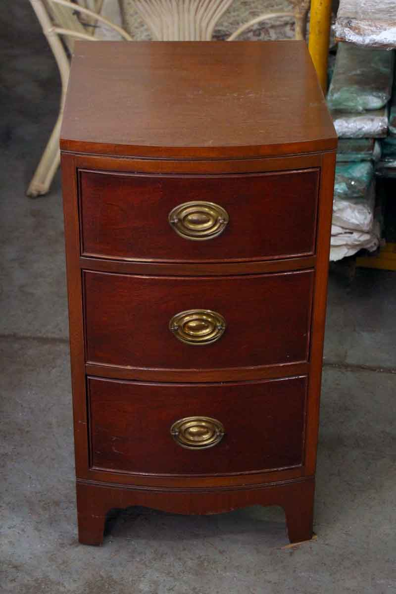 1940s Mahogany Bedside Table Olde Good Things