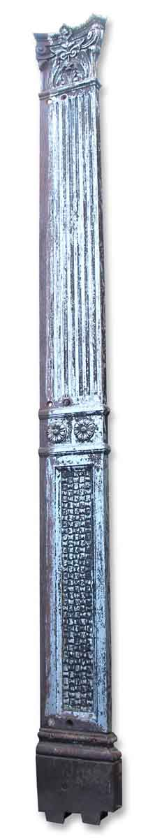 Pair of Iron Pilasters
