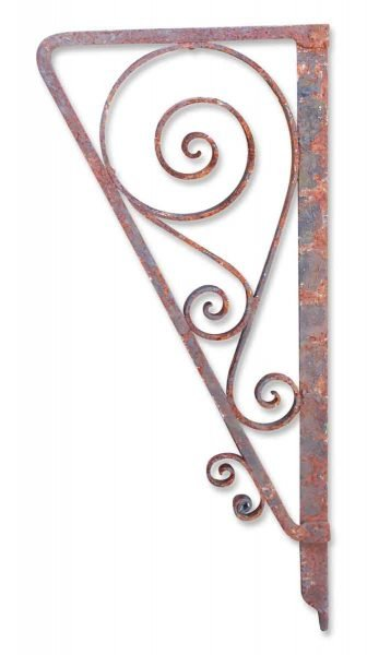 Antique Wrought Iron Architectural Brackets