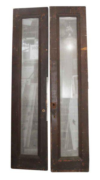 Dark Wood Brownstone Door Entry Set