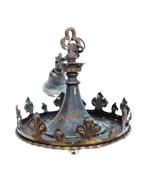 Bronze Gothic Hanging Pendant Light