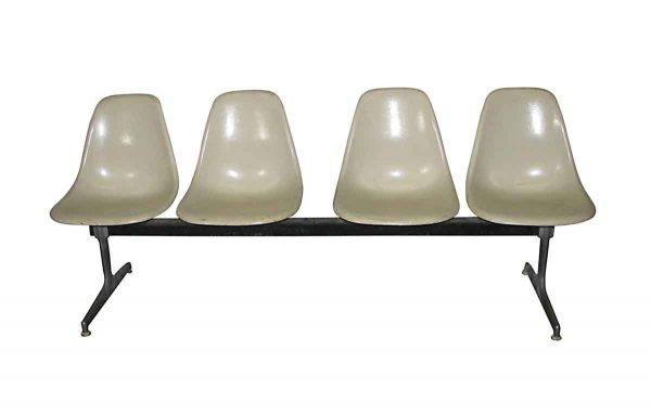Eames Style Egg Carton Chair Bench