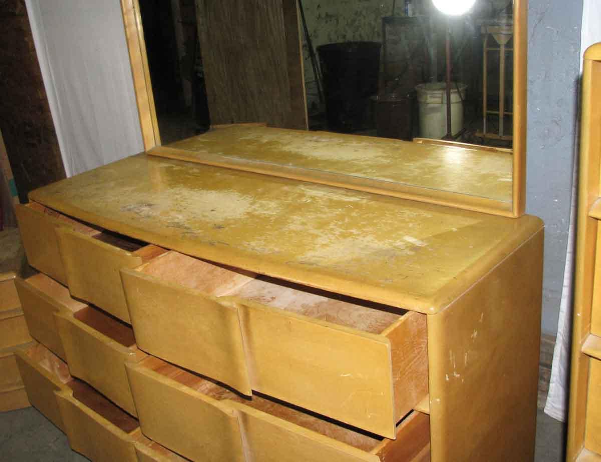 Mid Century Maple Bedroom Set Heywood Wakefield Olde Good Things