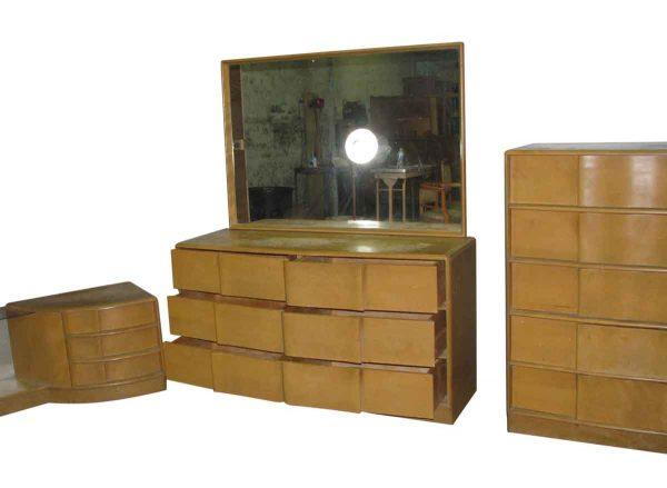 Mid Century Maple Bedroom Set Heywood Wakefield