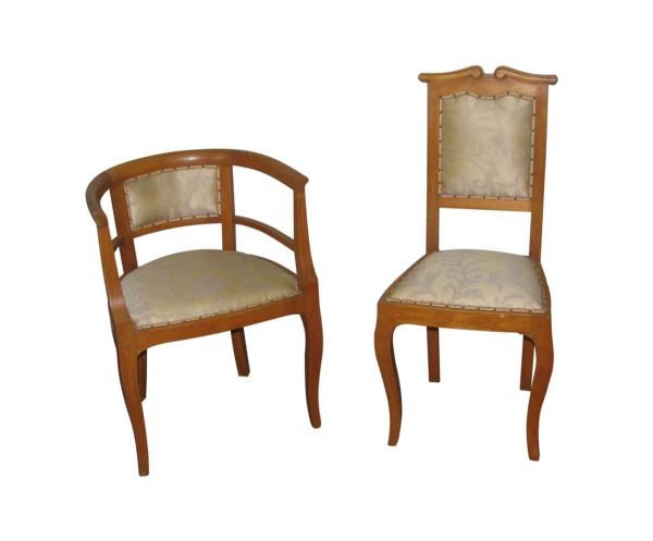 Pair of Mr. & Mrs. Chairs