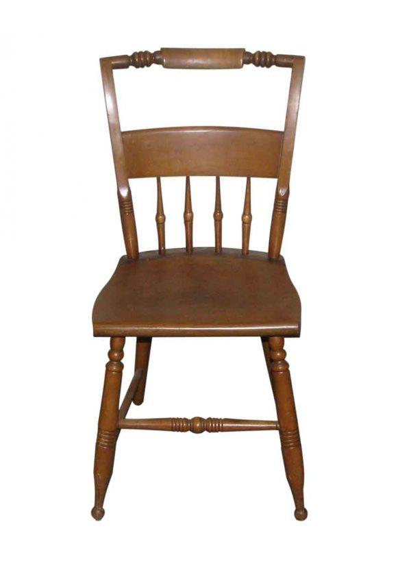 Breakfast Nook Simple Pine Chair