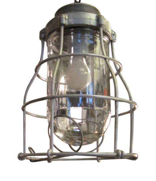 Rewired Steel Nautical Cage Light