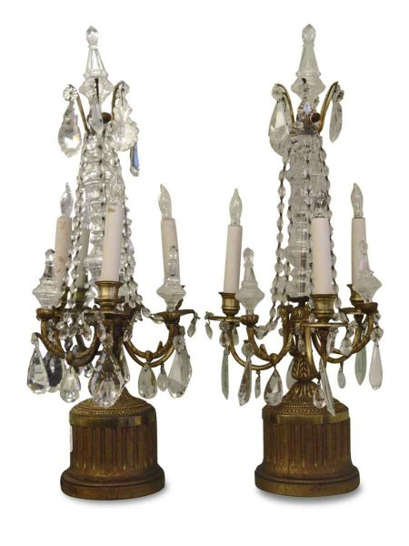 Pair of Electric Candelabras